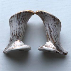 Accents - Ceramic candlesticks